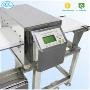 China FDA Standard Auto Conveyor Belt Meat Metal Detector 304 Stainless Steel 3D Version wholesale
