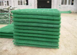 China 100 X 100mm Pvc Coated 6mm Welded Wire Mesh Panel For Expressways wholesale