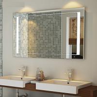 China Luxurious hotel bath mirror with heating pads and lock TV and radio on sale