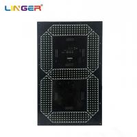 China Digital Board Seven Segment Digit With 24 Inch Height For Outdoor Clock wholesale
