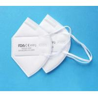China Ffp2 Standard Anti Pollution Face Mask Kn95 Dust Mask Non Woven Fabric wholesale