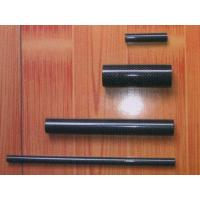 Quality Carbon Fiber Products JMCF-015 Black Carbon Fiber Tube 3k Plain for sale