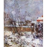 China Impressionist(3830) Snow, Rue Carcel wholesale