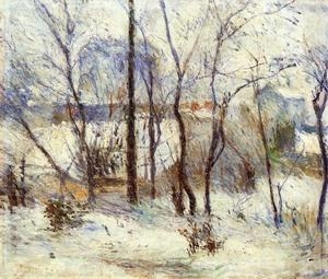 Quality Impressionist(3830) Snow at Vaugirard for sale