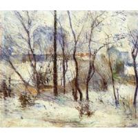 China Impressionist(3830) Snow at Vaugirard wholesale