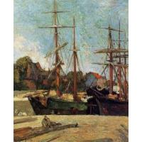 China Impressionist(3830) Schooner and Three-Master wholesale