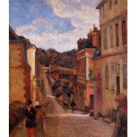 China Impressionist(3830) Rue Jouvenet, Rouen wholesale
