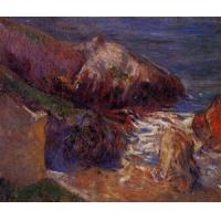 China Impressionist(3830) Rocks on the Coast wholesale