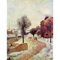 China Impressionist(3830) Suburb under Snow wholesale