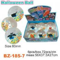 China Colorful Beads Bouncing Ball With Halloween wholesale