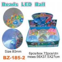 China Colorful Beads Bouncing Ball With Led wholesale