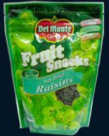 Quality Del Monte Delmonte Sun Dried Raisins for sale