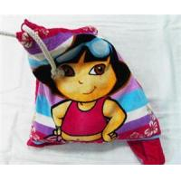 Quality Velour Beach Towel Bag for sale