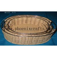 China Rattan Wares rattan basket wholesale