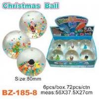 China Colorful Beads Bouncing Ball With Christmas wholesale