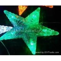 China LED five-pointed star wholesale