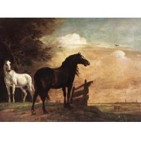 Buy cheap Oil Painting horses_f from wholesalers