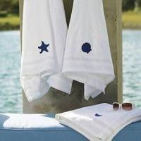 China Textiles monogrammed towel on sale