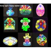 China led body light-Happy easter day wholesale