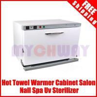 Quality Hot Towel Warmer Cabinet Salon Nall Spa Uv Sterilizer for sale