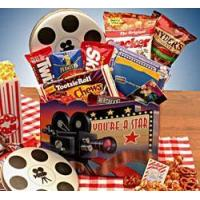 China Gourmet Gift Baskets Superstar Movie Gift Box - $15 Blockbuster Gift Card wholesale
