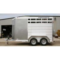 China FeatherliteHorse Trailer / Livestock Trailer Model 8407 wholesale