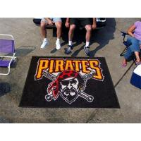 Quality Large Pittsburgh Pirates Logo Area Rug for sale