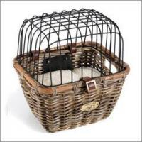 Quality Tuckernuck Rattan Dog Bicycle Basket for sale
