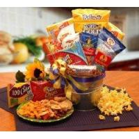 Quality Healthy Snack Food Gift Basket - Care Package Gift Idea for College Kids Away from Home for sale