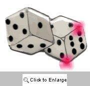 Quality Buy Bunco Blinking Dice - 1 Dozen Bunco Prize for sale