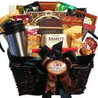 Quality Gift Baskets Art of Appreciation Gift Baskets Coffee Connoisseur Gourmet Food Basket for sale
