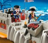 Quality TOY: PLAYMOBIL SOLDIERS BASTION for sale