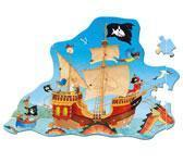 China TOY: SPIRGELBURG CAPTN SHARKY FLOOR PUZZLE wholesale