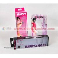 Quality Clear shoes box Clear PVC Condom Folding boxes for sale