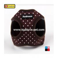 China Product: Colorful Dotty Pattern,Comfort Cotton Dog Harness Vest on sale