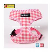 China Product: Trellis design pet harness,cotton dog harness wholesale