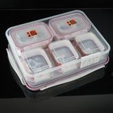 China plastic container set wholesale