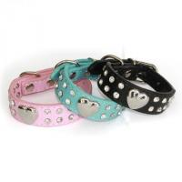 China Crystal Dog collar wholesale