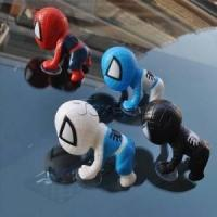 China Marvel Spiderman Set of 4pcs Mini Action Figures Dolls with Sucker for Car Decoration wholesale