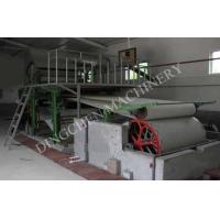 China 787mm Type Complete Tissue Paper Making Plant for Capacity 1 ton/day wholesale