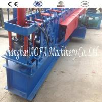 China Wall Angle Channel Roll Forming Machine With Punching wholesale