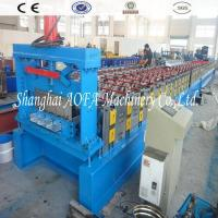 China Popular Galvanized Steel Panel Floor Deck Roll Forming Machine wholesale
