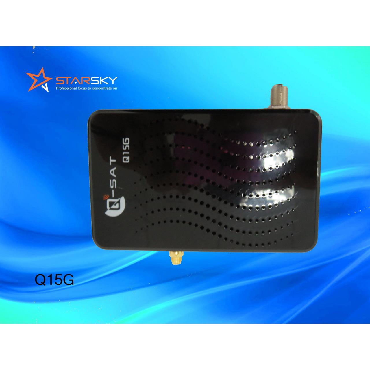 Quality DVB-S2+LAN+CA+GPRS Q-SAT Q15G for sale