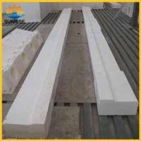 China for glass furnace refractory brick prices Fused cast AZS block on sale