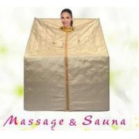 China spa supplies Far infrared portable sauna dry heating sauna room on sale