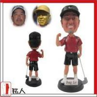 "China Sports Bobblehead 7"" customized personalized golfer bobble head wholesale"