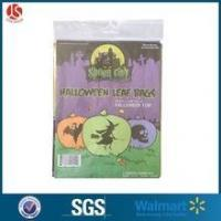 China Halloween Leaf Bags Witch Ghost Skull 24 x 30 Inch wholesale
