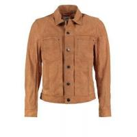 China Leather Jacket Men's Leather Jackets With Button Closed wholesale