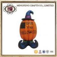 China Holiday Products Vintage Halloween Resin Decoration Spooky Pumpkin wholesale