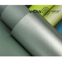 China PU Leather, Silver Reflective,Foam Reflective Leather 60 C Home Wash Temperature, RL-HW606000-PU wholesale